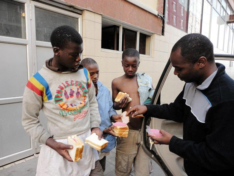Donation Feeding Street Children