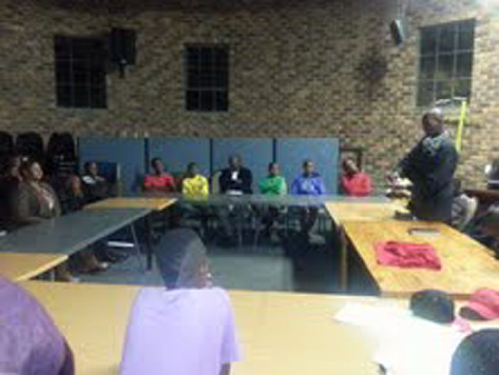 Johannesburg Family Reunification Camp – Oct 2013